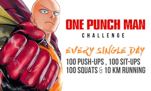 One Punch Man workout benefits
